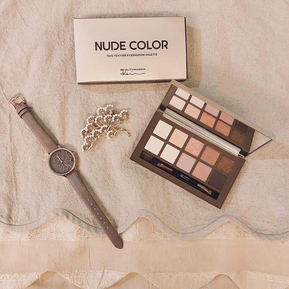 BeautyMaker Duo Texture Eyeshadow Palette